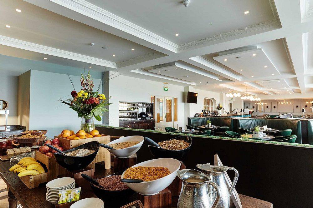 Breakfast at The Montenotte Hotel