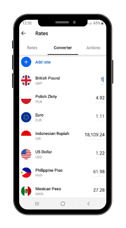 Revolut currency conversion tool