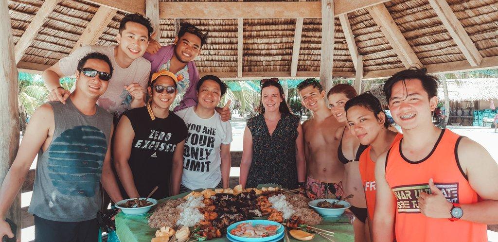 filipino bbq lunch