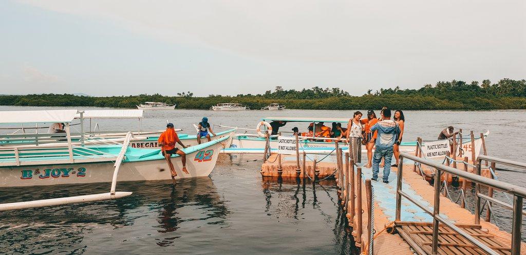 boats to sugba lagoon