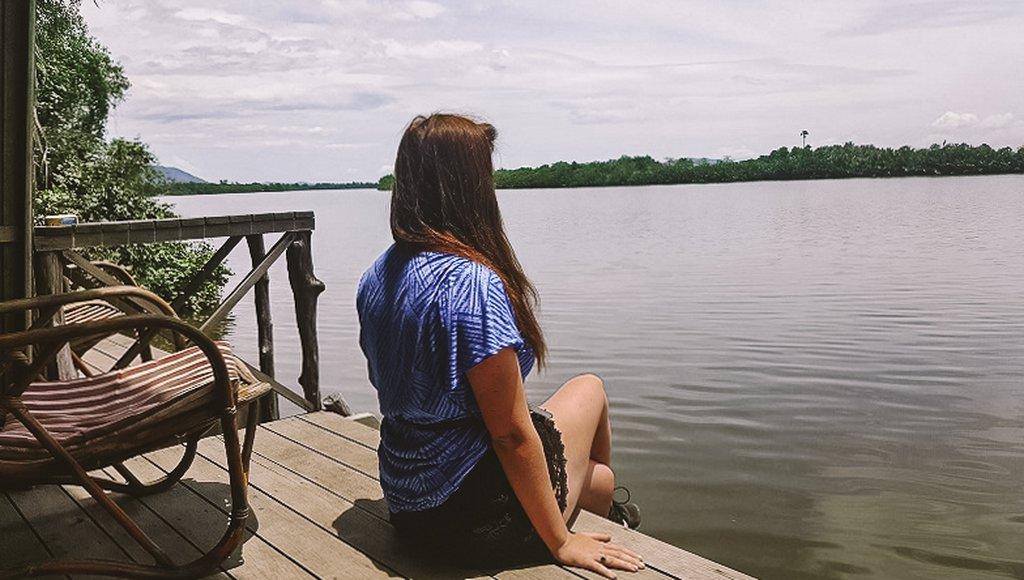 kampot river view