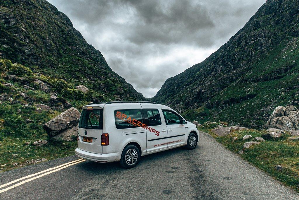 driving a campervan in ireland