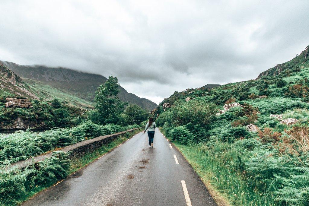 walking the gap of dunloe