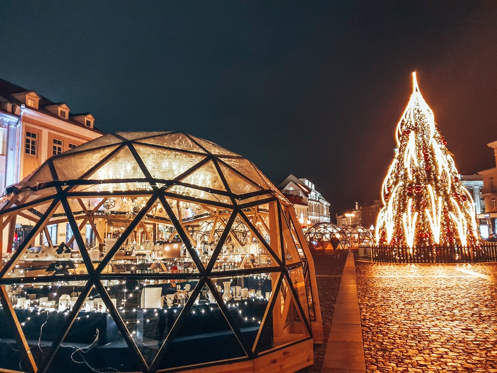 christmas markets in vilnius