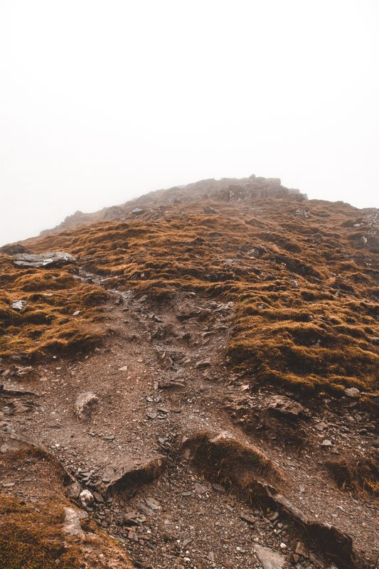 rocks in Ben Lomond climb