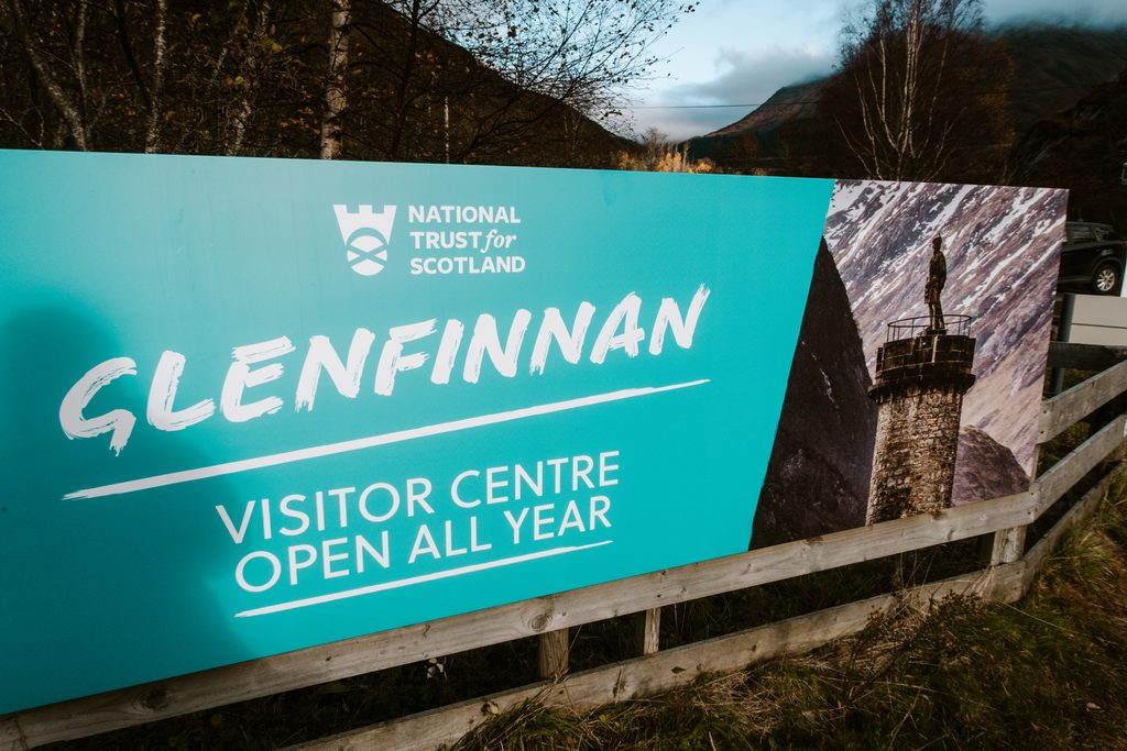 Glenfinnan visitor exhibit