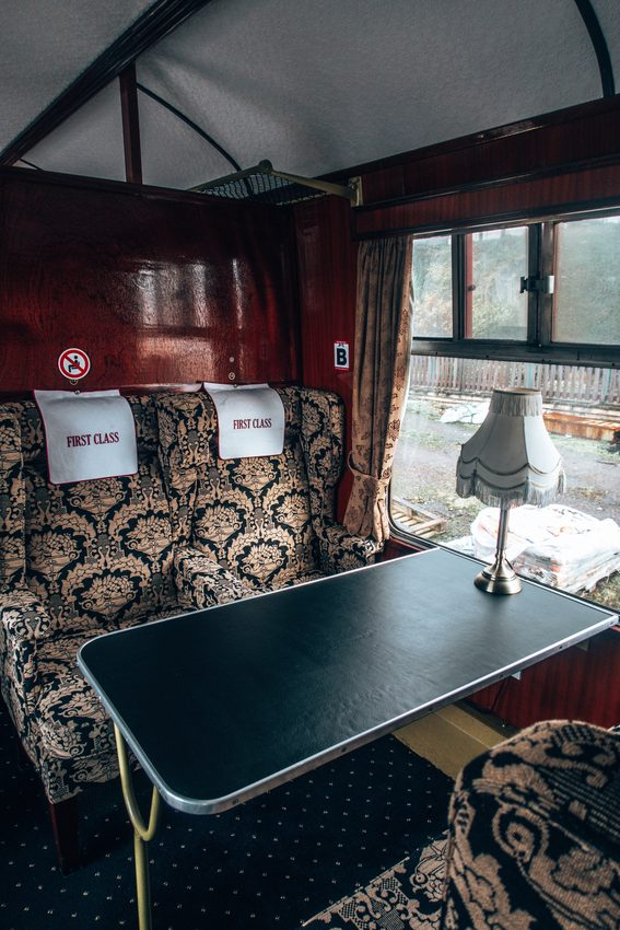1st class on jacobite express