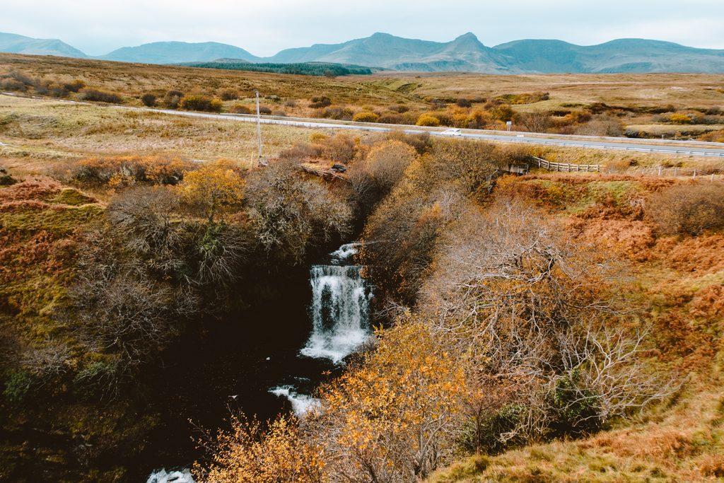 waterfalls on the isle of skye