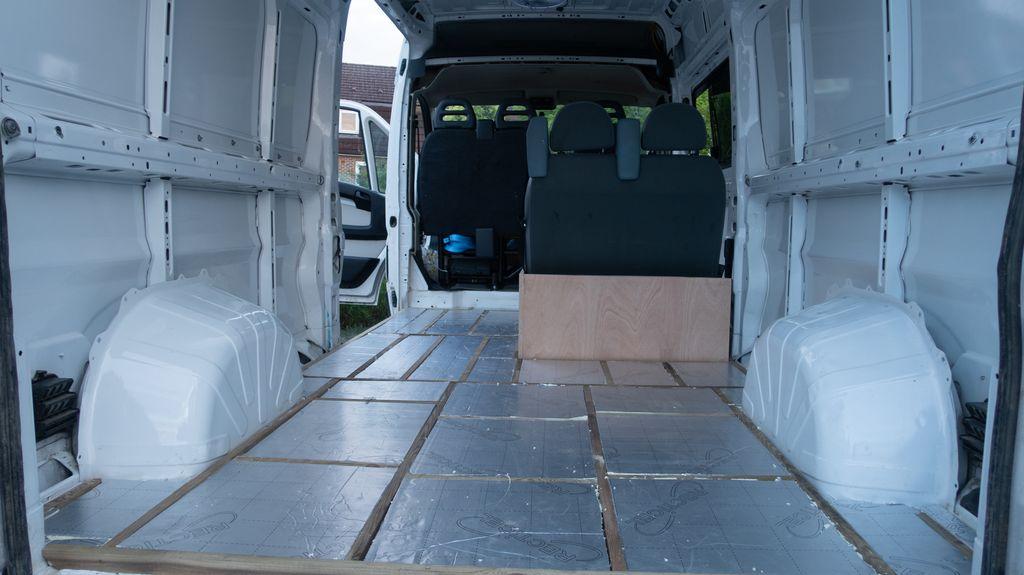 camper conversion floor insulation