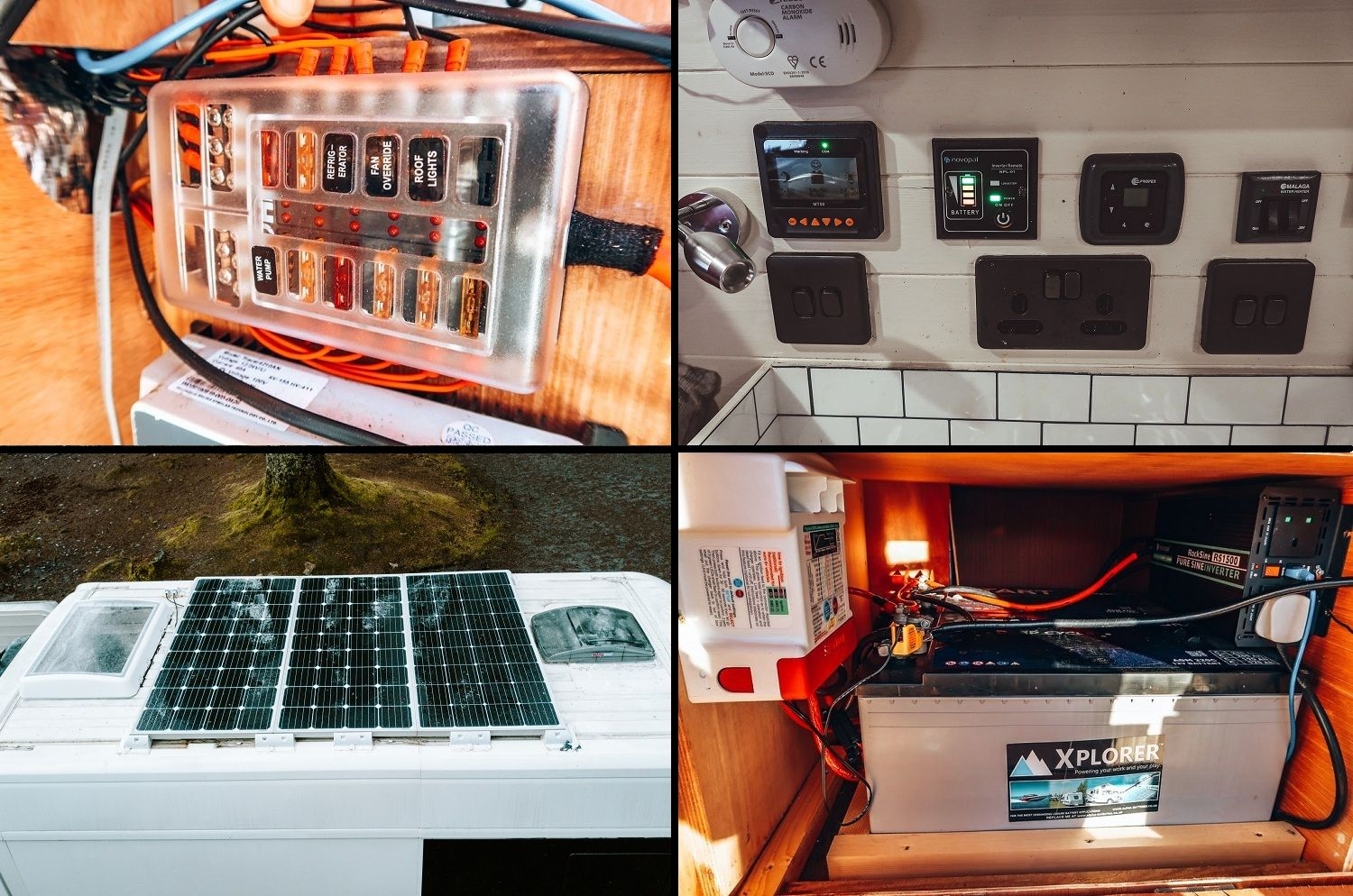Our campervan electrical system