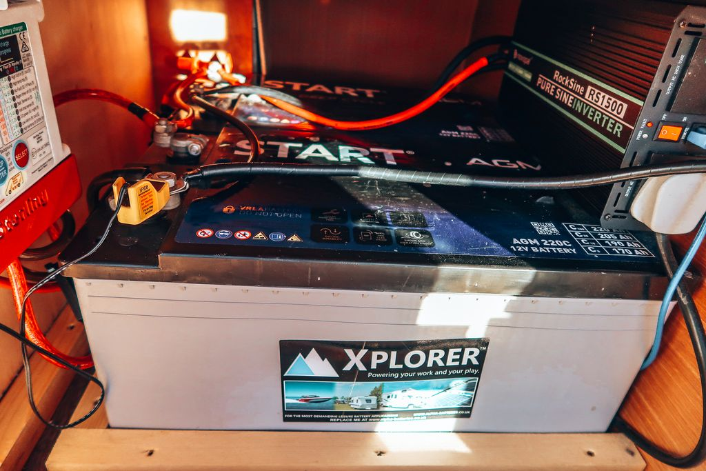 220ah AGM camper leisure batteries