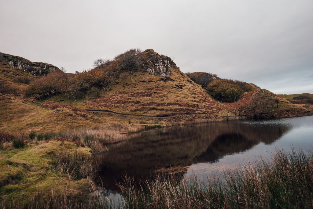 lakes at the fairy glen
