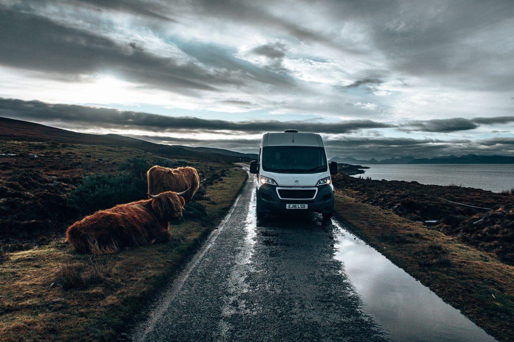campervan road trip for nc500