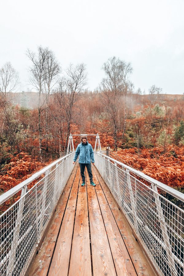 Corrieshalloch Gorge National Nature Reserveviewing platform