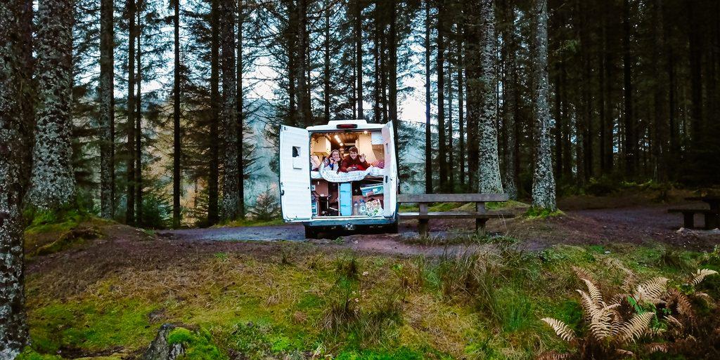 wild camping in loch lomond