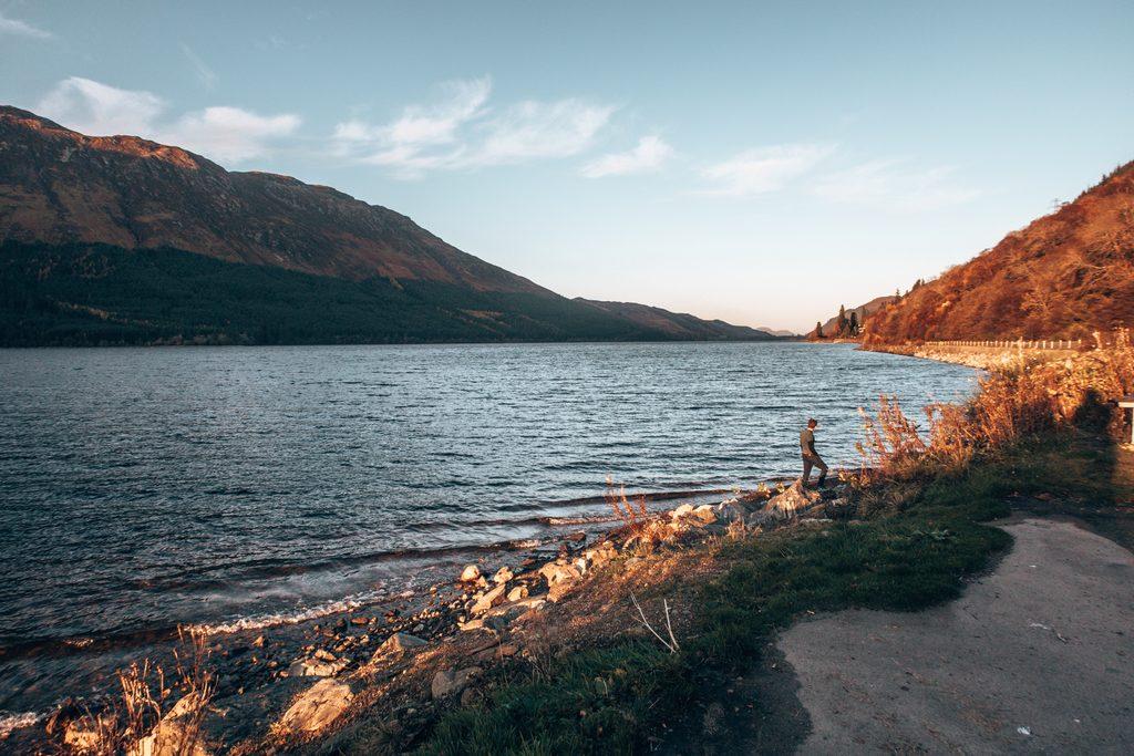 wild camping spots lochy loch