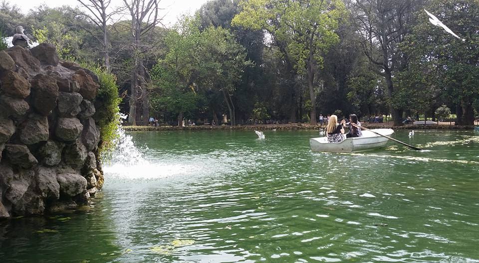 Borghese Lake, Rome