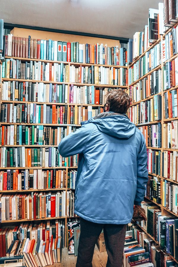 oldest second hand book store in scotland