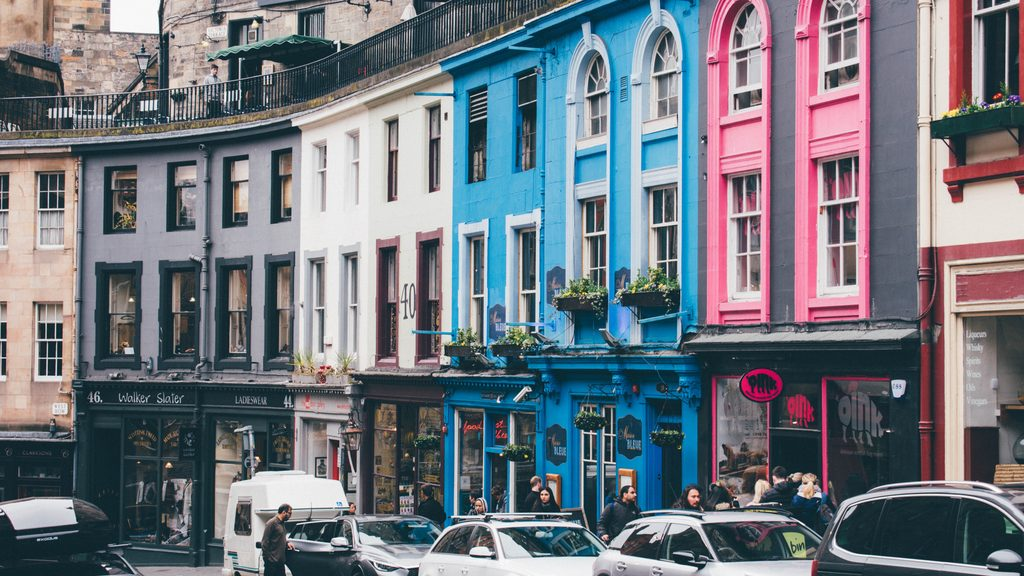 victoria street  Edinburgh city