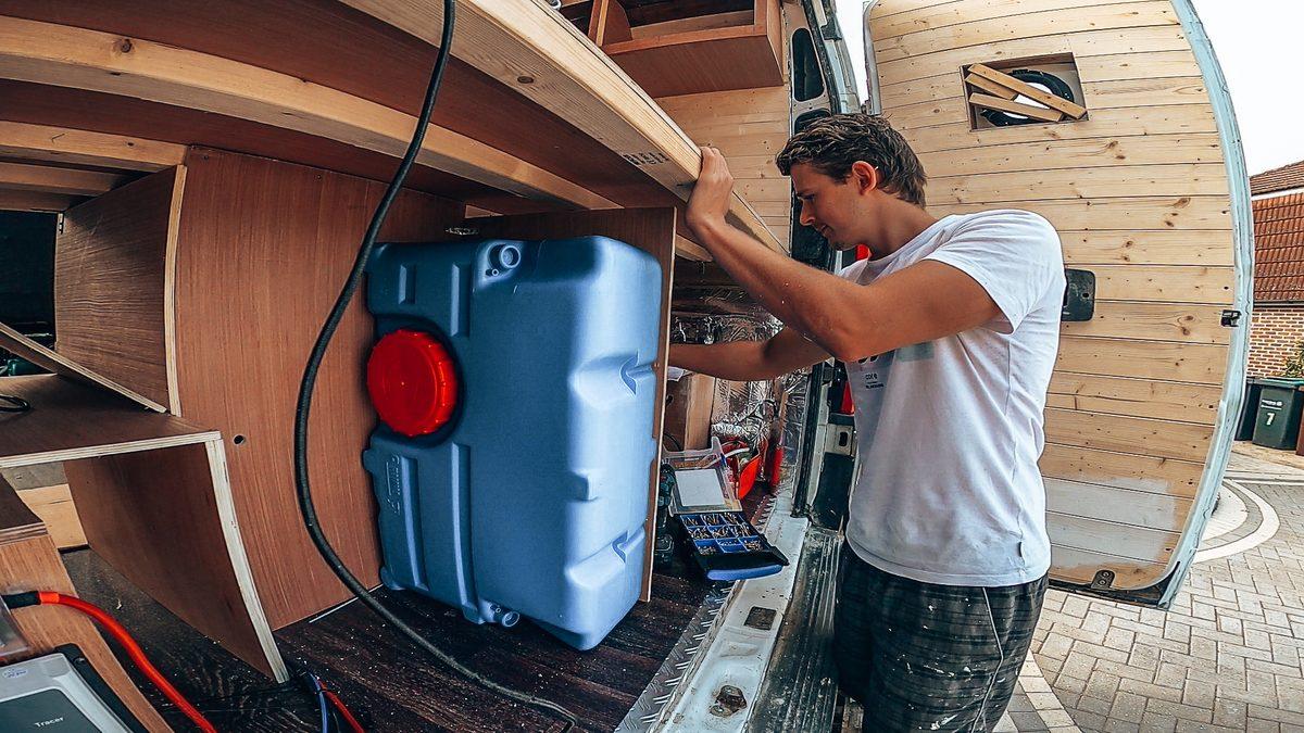 campervan water system
