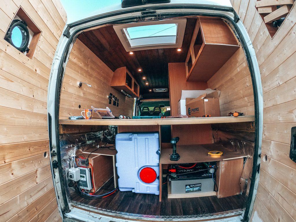 campervan water installation