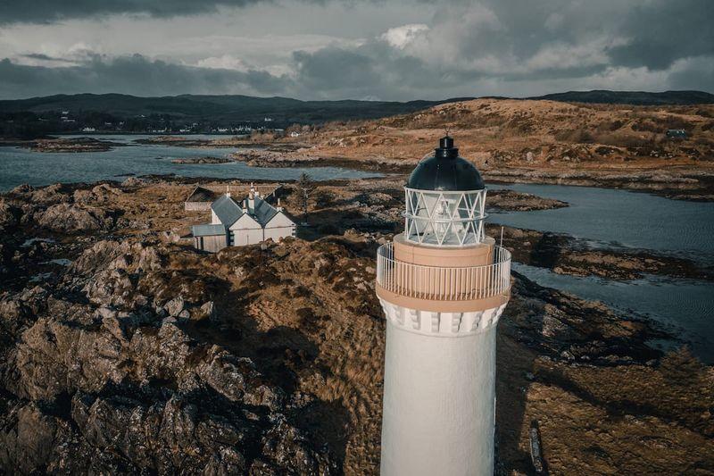 Lighthouse cottage Scotland