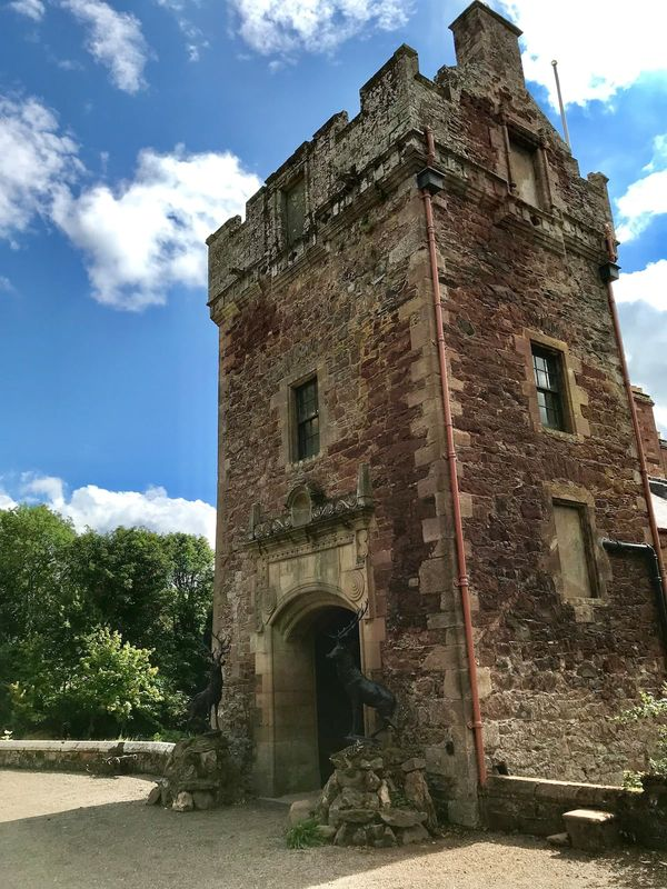 16th Century Scottish Borders Tower, by Earlston