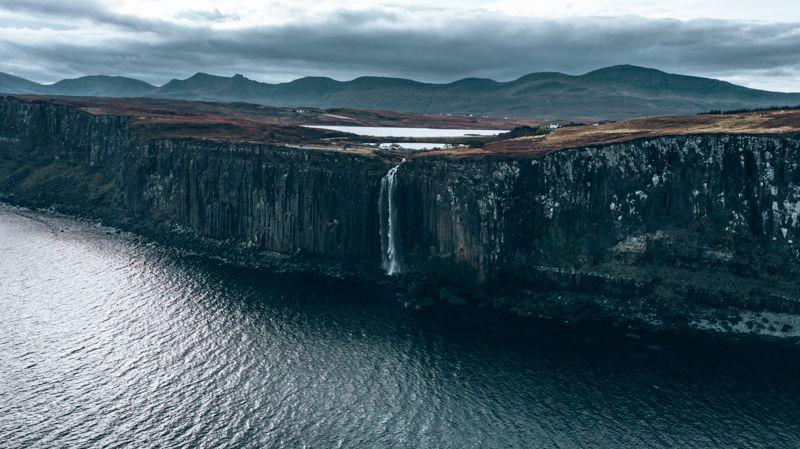 Kilt Rock and Mealt Falls Isle of Skye