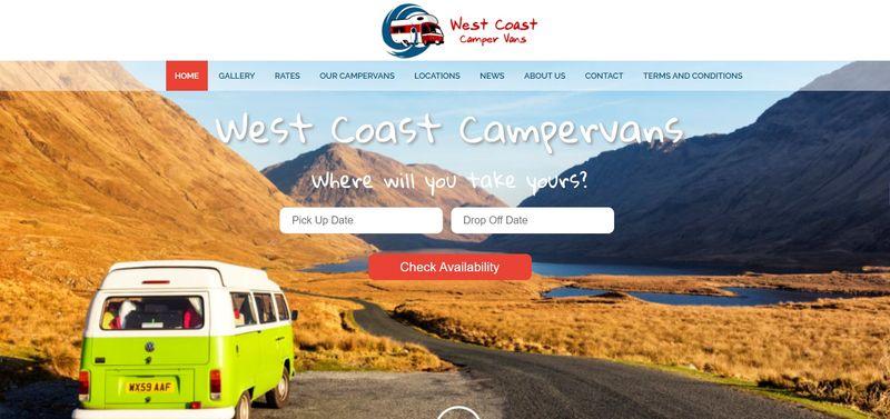 West Coast Campervans Ireland