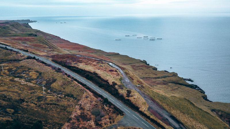 campervan roads Scotland
