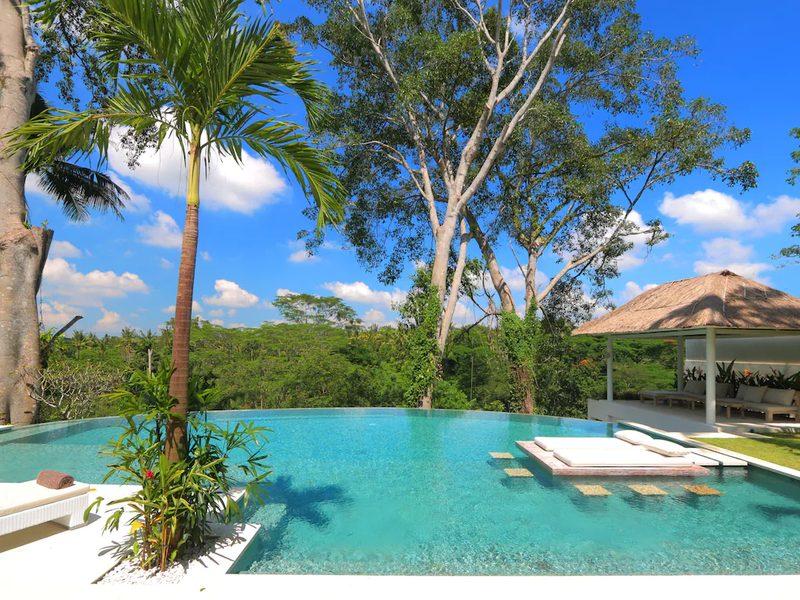 cliff side private pool villa bali