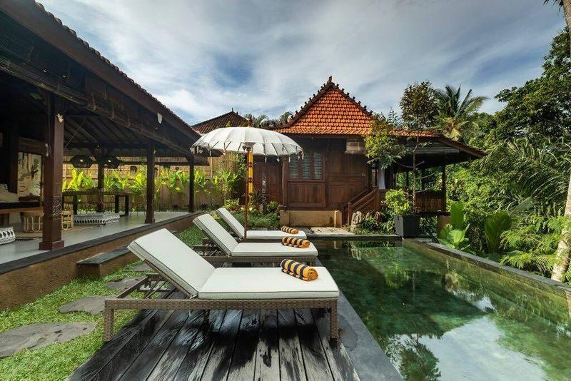 ubud private pool villa