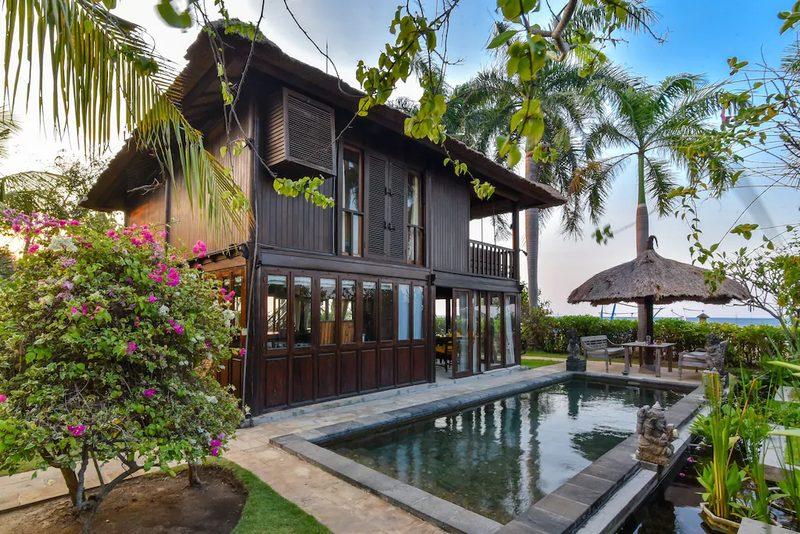 private pool villa in bali mid range