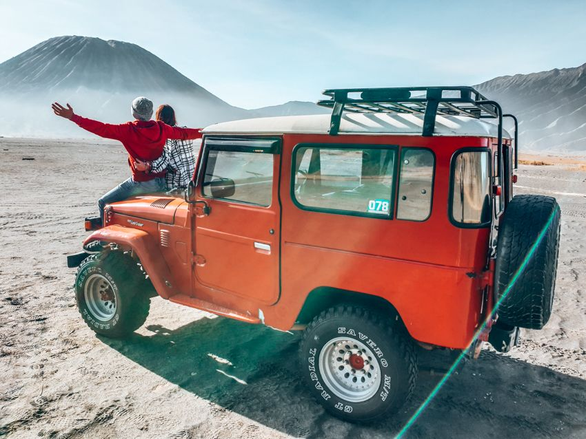 Mount Bromo Jeep ride