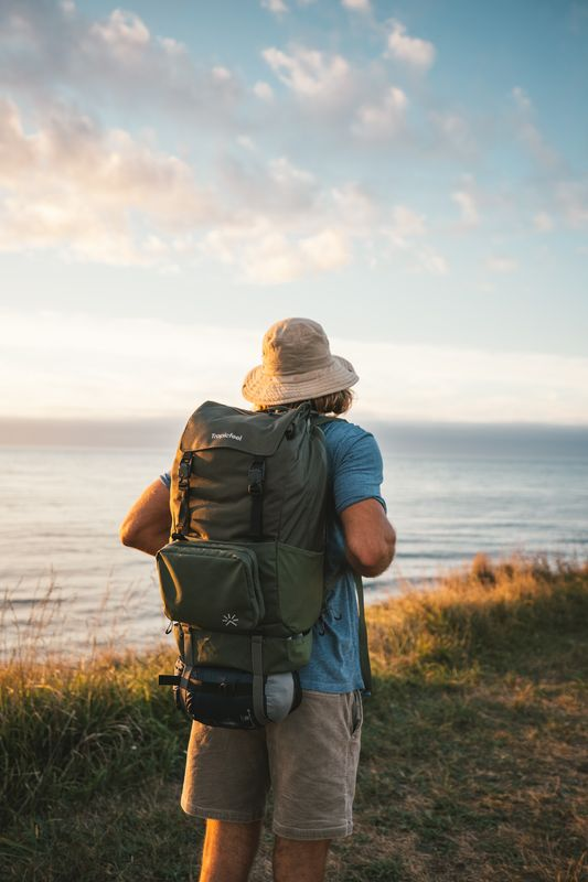 Using Tropicfeel Shell backpack