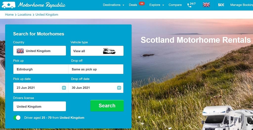 Motorhome Republic Scotland