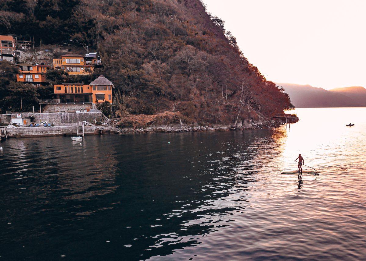 Sunset Lodge Lake Atitlan