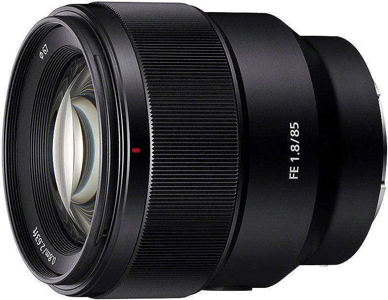 Sony 85mm F1.8 lens