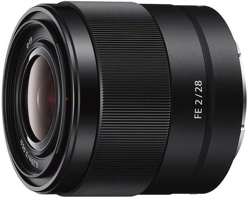 Sony SEL28F20 FE 28mm f/2-22 lens