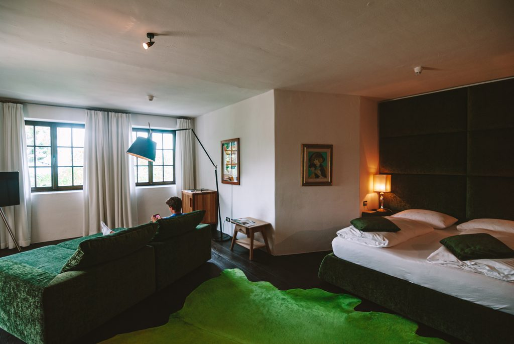 rooms at the romantik hotel turum