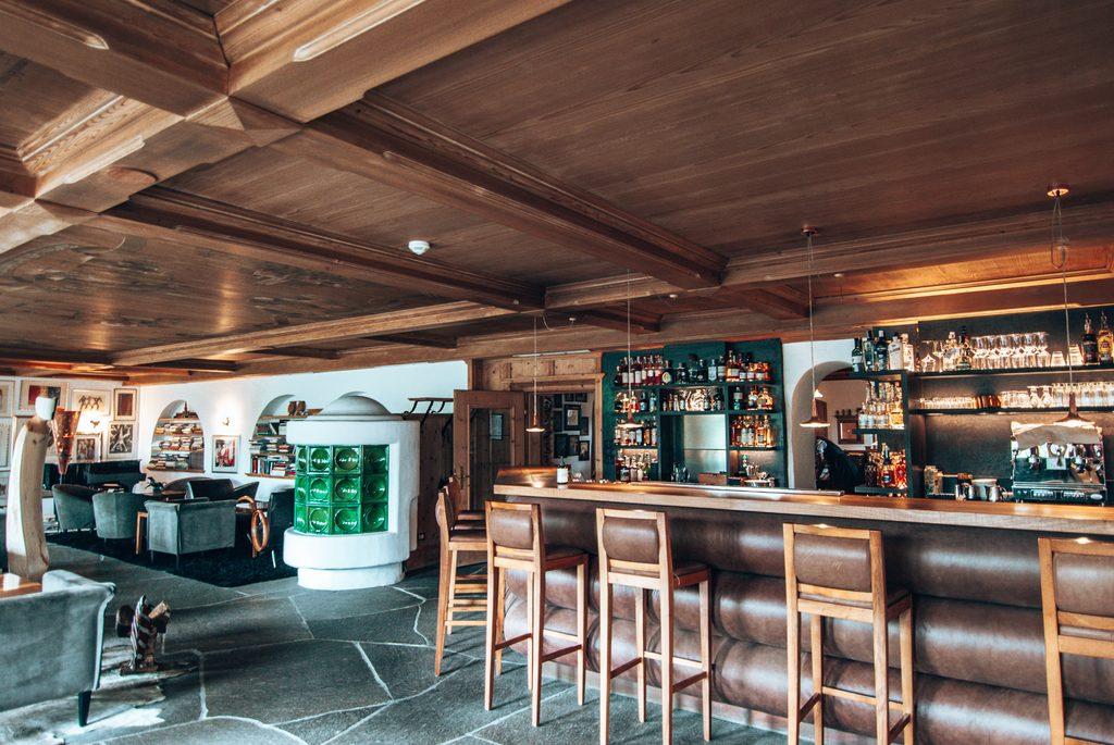 bar at romantic hotel turm