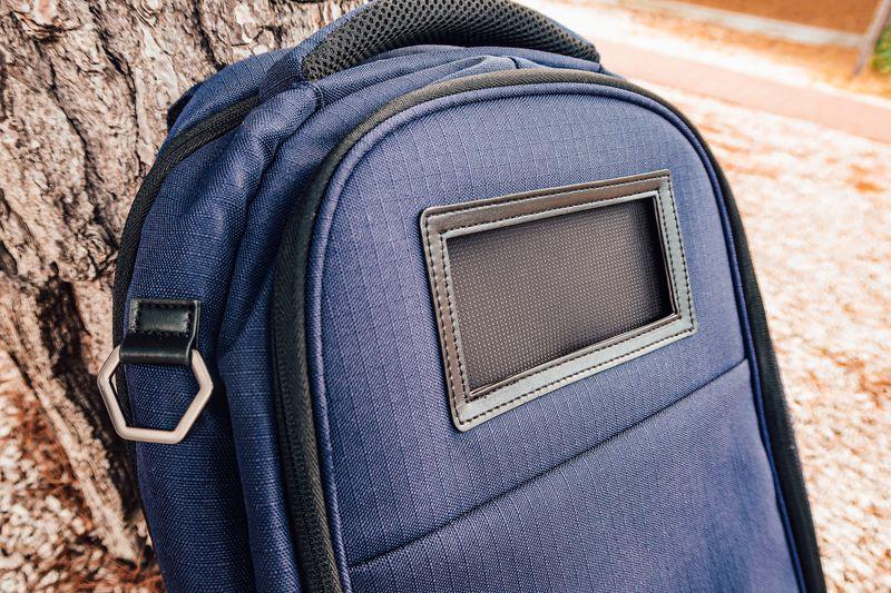 Lifepack solar panel slot