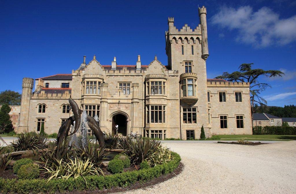 Overnight stay in Lough Eske Castle, Donegal, Northern Ireland