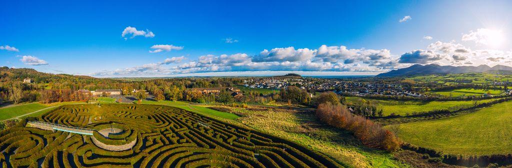 Castlewellan Forest Park Maze, Northern Ireland
