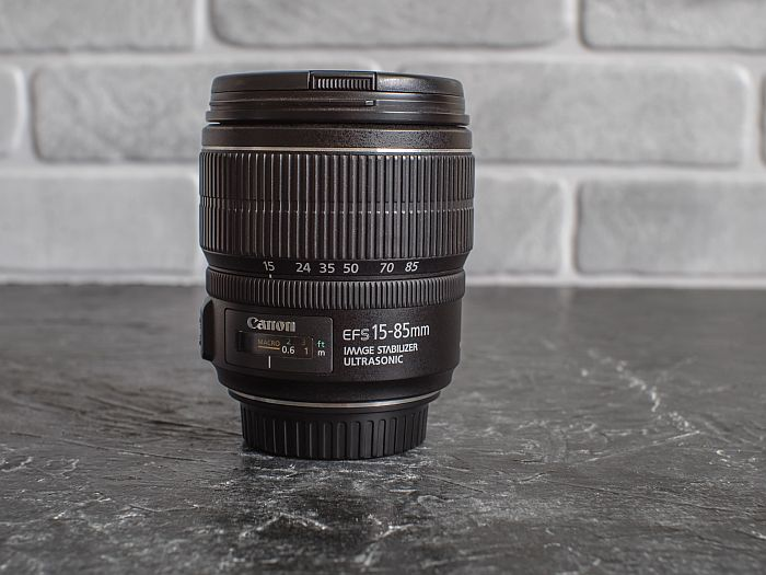 Canon EF-S 15-85mm lens