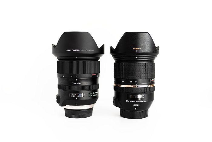 Tamron SP 24-70mm lens