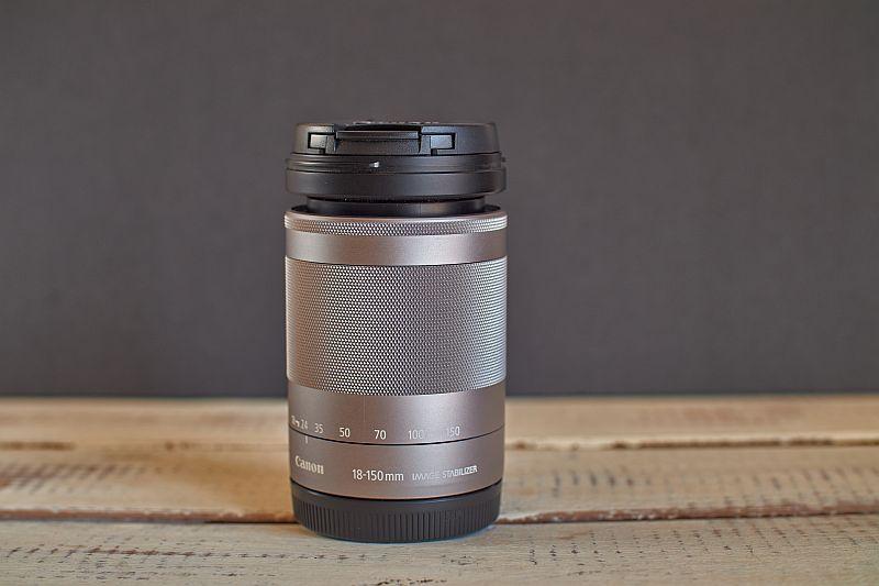 Canon 18-150mm f/3.5 lens