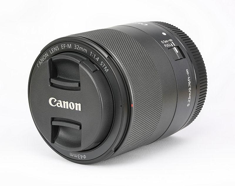 Canon 32mm f/1.4 STM lens