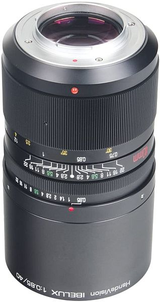 Handevision 40mm f/0.85 lens