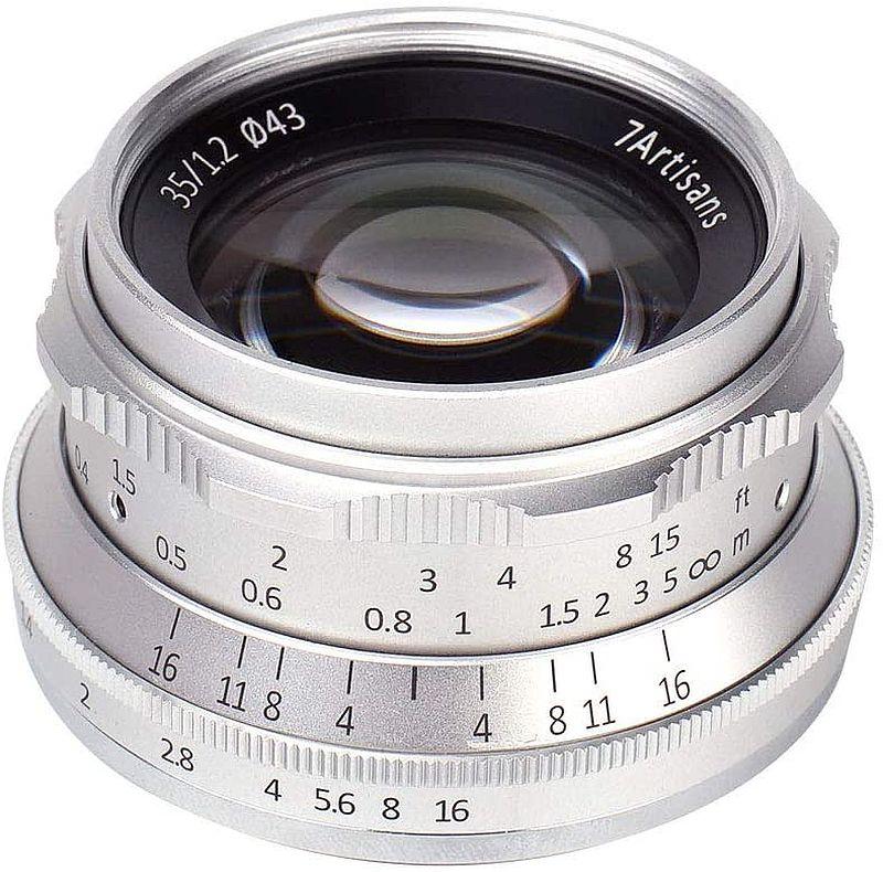 7artisans 35mm F1.2 Canon EF-M lens